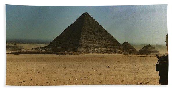 Pyramids Of Egypt Hand Towel