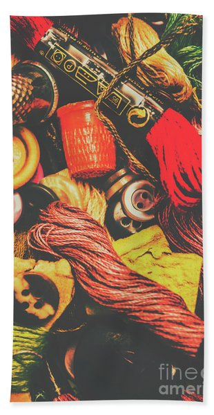 Quilting In Crochet Bath Towel