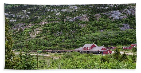 Railroad To The Yukon Hand Towel
