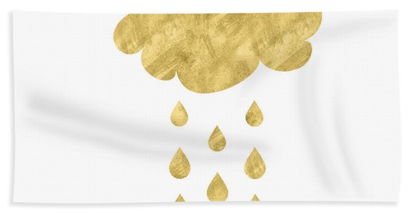 Rain Cloud- Art By Linda Woods Bath Towel