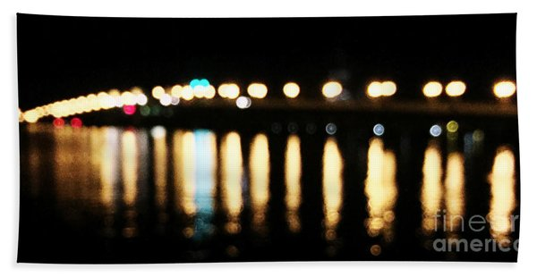 Bridge Of Lions -  Old City Lights Bath Towel