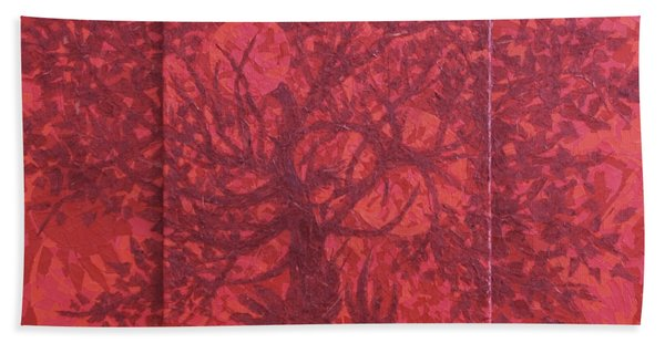 Red Planet Hand Towel