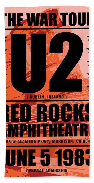 Red Rock Concert Bath Towel