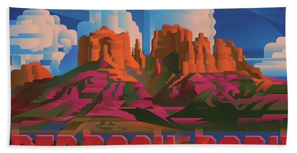 Red Rock State Park Arizona Bath Towel