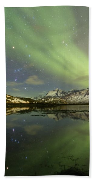 Reflected Orion Bath Towel