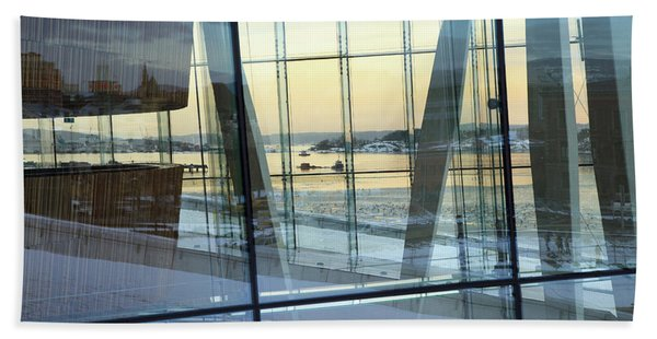 Reflections Of Oslo Hand Towel