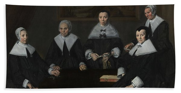 Regentesses Of The Old Men's Alms House Hand Towel