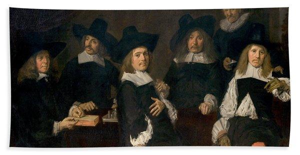 Regents Of The Old Men's Alms House Hand Towel