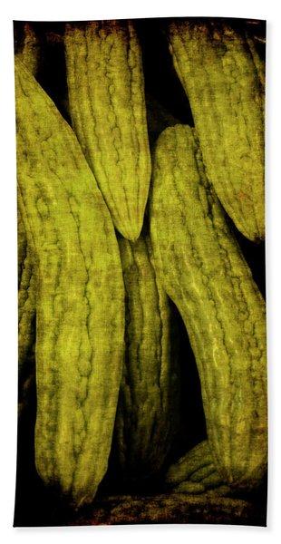 Renaissance Chinese Cucumber Hand Towel