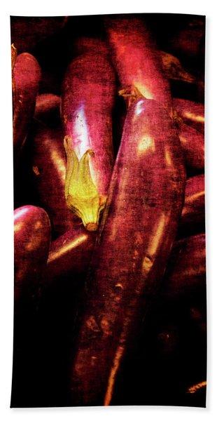 Renaissance Chinese Eggplant Hand Towel