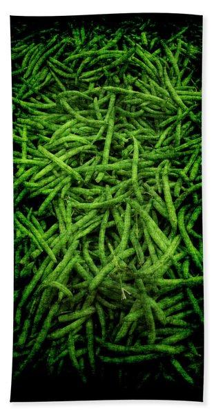 Renaissance Green Beans Bath Towel
