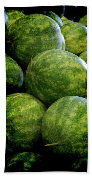 Renaissance Green Watermelon Bath Towel