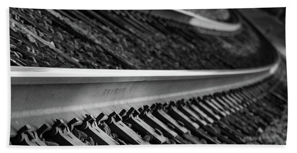 Riding The Rail Hand Towel