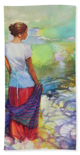 Riverside Muse Bath Towel