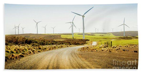 Road To Natural Energy Bath Towel