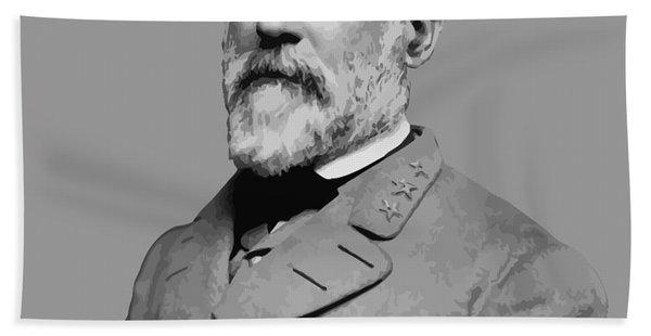 Robert E Lee - Confederate General Hand Towel