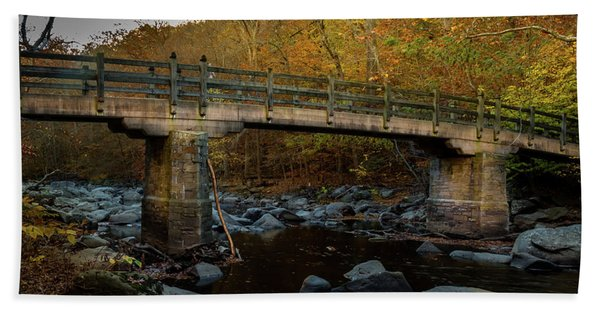 Rock Creek Park Bridge Hand Towel