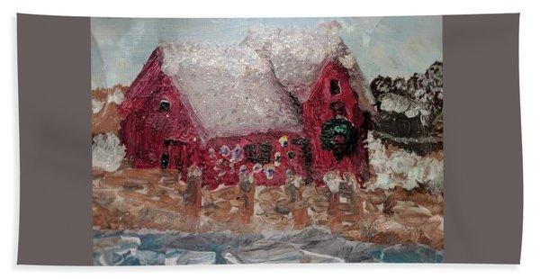 Rockport Christmas 1 Hand Towel