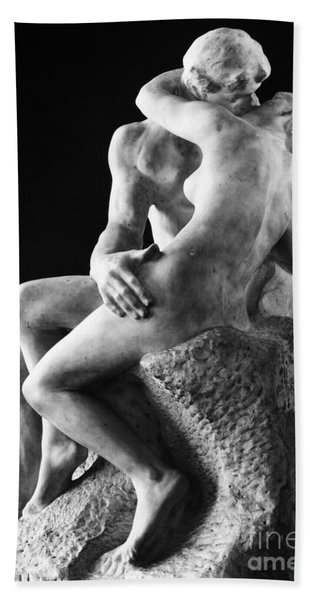 Rodin: The Kiss, 1886 Bath Towel
