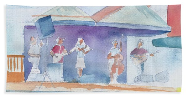 Roots Retreat Bluegrass Hand Towel