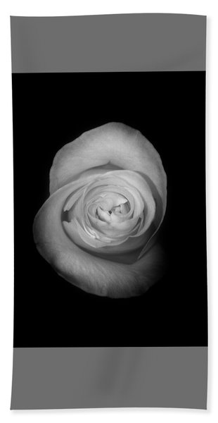 Rose From The Shadows Hand Towel