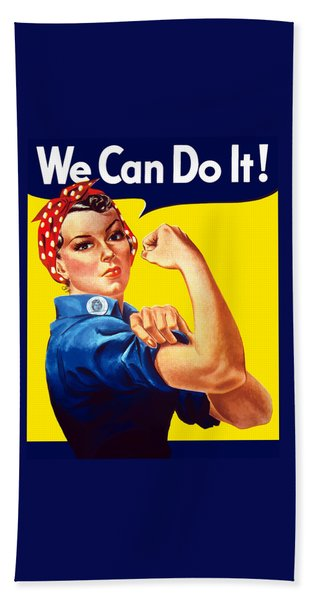 Rosie The Rivetor Hand Towel