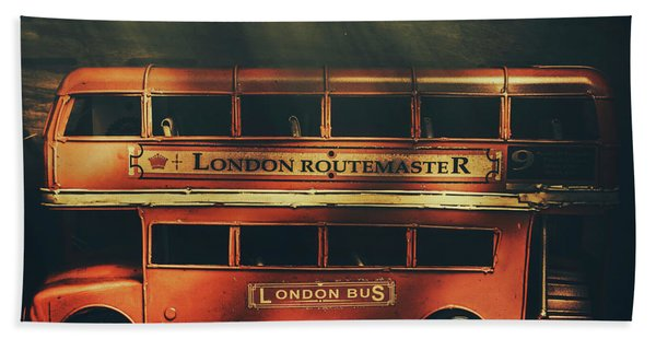 Routemaster Bus Station Hand Towel