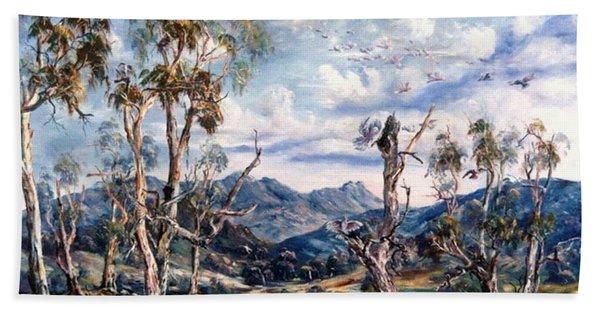 Rwetyepme, Mount Sonda Central Australia Hand Towel