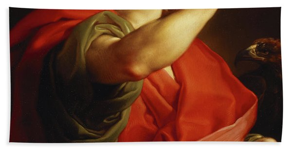 Saint John The Evangelist Hand Towel