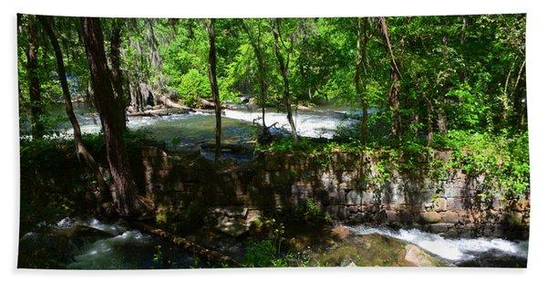 Saluda River Columbia Sc Hand Towel