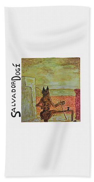 Salvador Dogi Bath Towel
