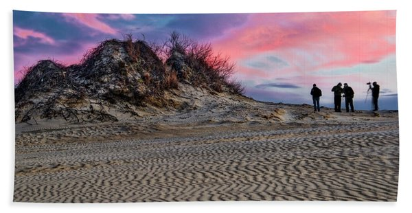 Sand Dunes Of Kitty Hawk Bath Towel