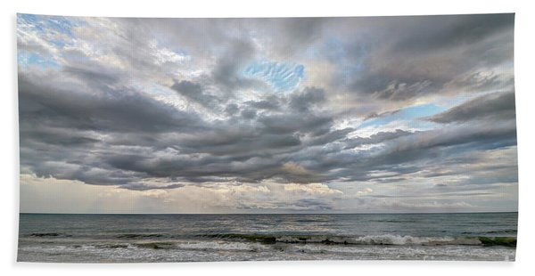 Sanibel Island Seashells Bath Towel