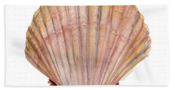 Scallop Shell Bath Towel