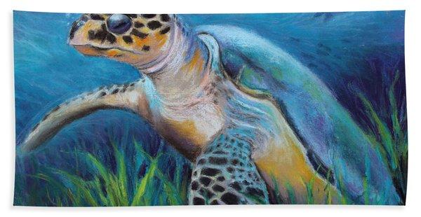 Sea Turtle Cove Hand Towel