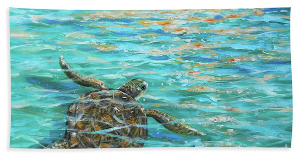 Sea Turtle Dream Hand Towel