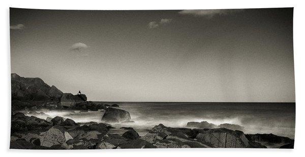 Seaside Solitude Hand Towel