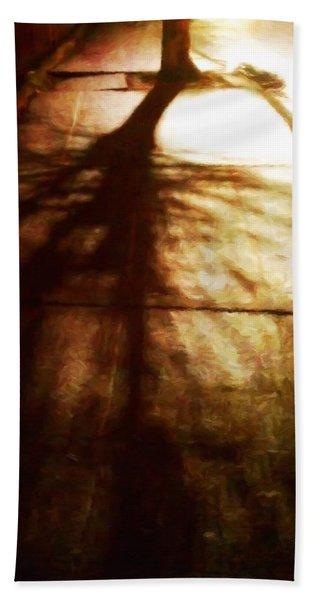 Shadow Of No Doubt Bath Towel