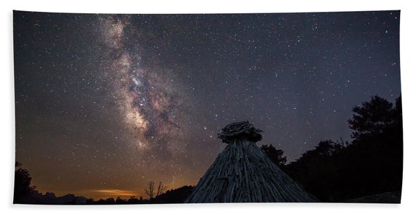 Sheepfold Under The Stars Hand Towel