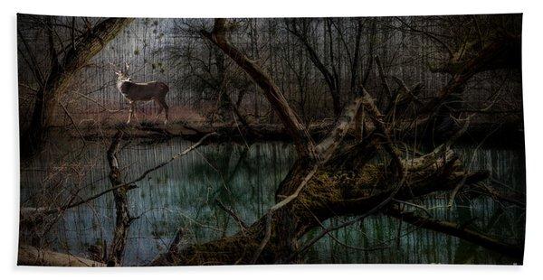 Silent Forest Bath Towel