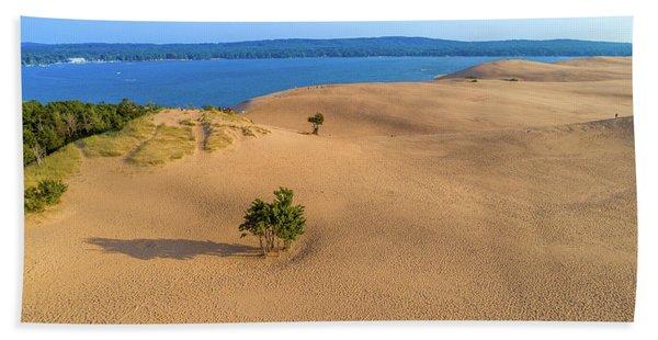 Silver Lake Dunes Bath Towel