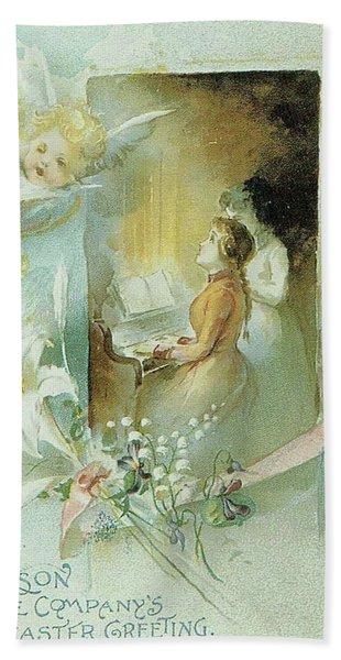 Singing The Praises Bath Towel