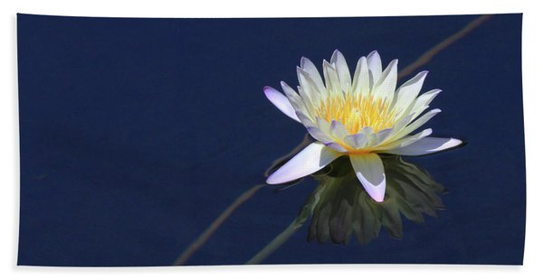 Single Lotus Bath Towel