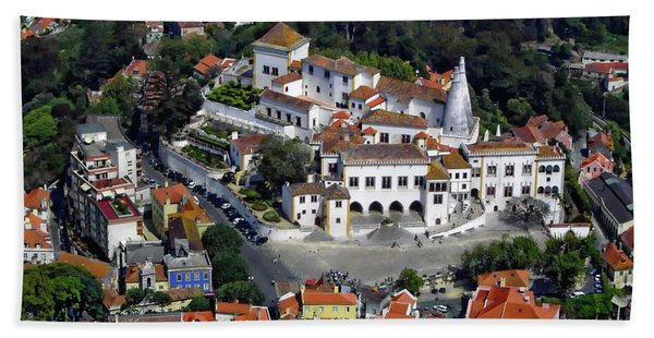 Sintra From Above Hand Towel