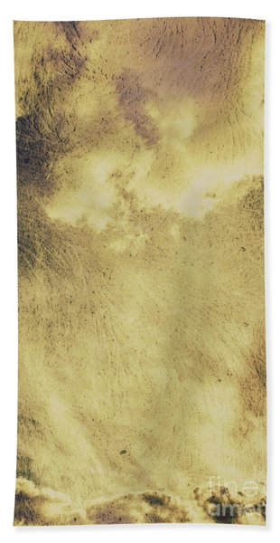 Sky Texture Background Hand Towel