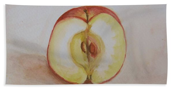 Sliced Apple Hand Towel