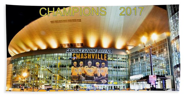 Smashville Western Conference Champions 2017 Bath Towel