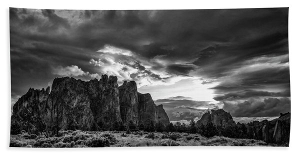 Smith Rock Fury Hand Towel