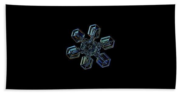 Snowflake Photo - High Voltage IIi Bath Towel