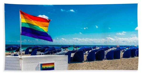 South Beach Pride Bath Towel